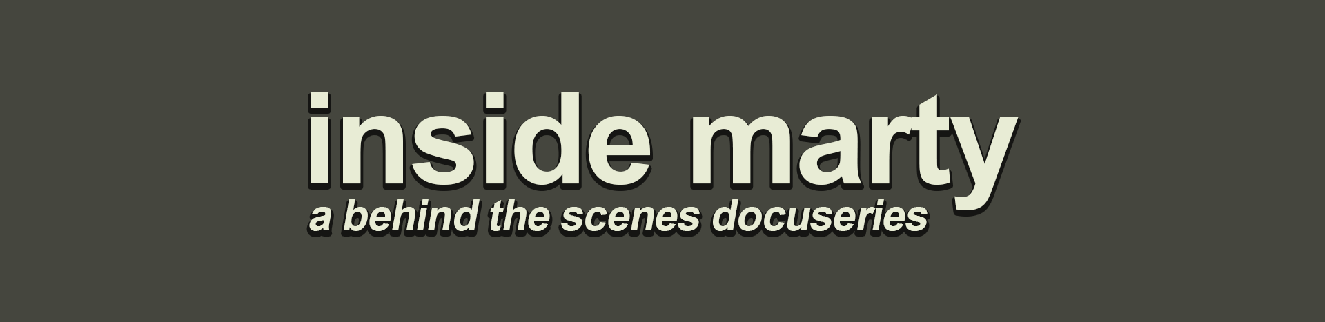 Show scenes page - Inside Marty Is A Behind The Scenes Docuseries That Shows The Creation Of Marty S Internet Show Every Episode Has Bloopers Deleted Scenes And Filming